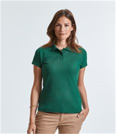 Russell Ladies Classic Poly/Cotton Pique Polo Shirt