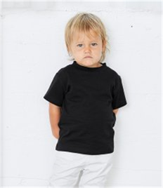 Canvas Toddler Crew Neck T-Shirt