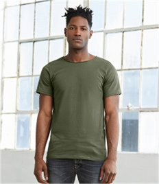 Canvas Unisex Raw Neck T-Shirt