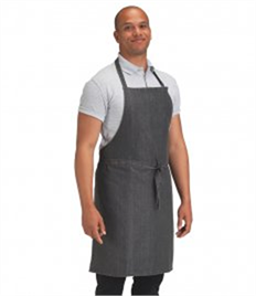 Dennys Cross Dyed Denim Bib Apron