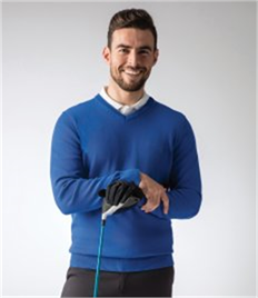 Glenmuir Touch of Cashmere V Neck Sweater