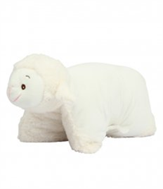 Mumbles Zippie Lamb Cushion