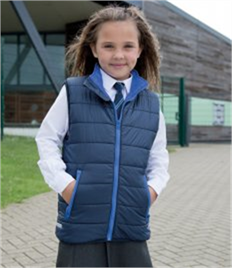 Result Core Kids Padded Bodywarmer