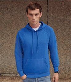 Fruit of the Loom Lightweight Hooded Sweatshirt