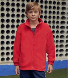 Fruit of the Loom Kids Outdoor Fleece Jacket