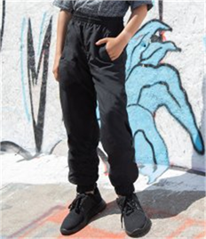Tombo Kids Cuffed Track Pants