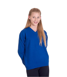 Childrens V Neck Sweatshirt