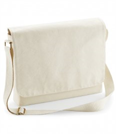 Westford Mill Fairtrade Canvas Messenger
