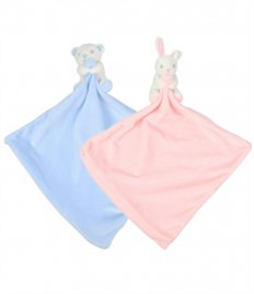 Mumbles Animal Comforter with Rattle