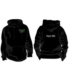 JH001 - Hart NC Adult Hoodie
