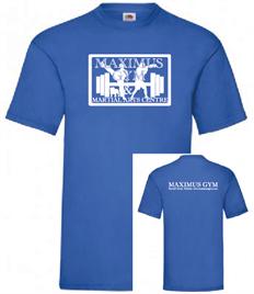 Maximus Unisex T-shirt White print