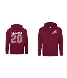 JH050 Zipped Calthorpe Leavers Hoodie