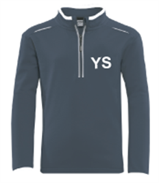 Yateley 1/4 Zip top Navy/White 38/40 - 42/44