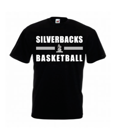 SS6B Yateley Silverbacks Children's printed T-shirt
