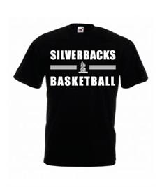 SS6B Yateley Silverbacks Children's printed T-shirt