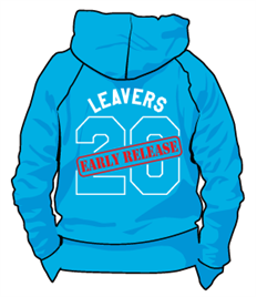 Early Release Leavers Hoodie Children's sizes