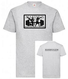 Maximus Unisex T-shirt Black Print