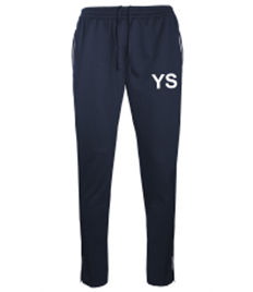 Yateley PE Track Pants Navy/Silver 22/24 - 26/28