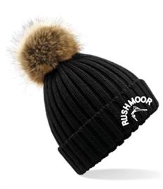 BB412 Rushmoor Adult Pom Pom Hat