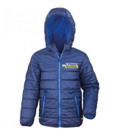 RS233B ASRC Junior Padded Jacket Navy/Royal