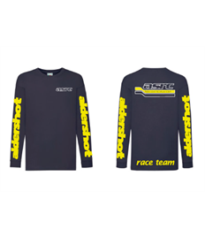 GD14 ASRC Adult Race Shirt Navy 100% Cotton Race Shirt